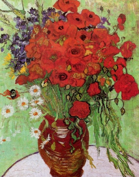 Paint Van Gogh's Poppies - Kensington by PopUp Painting - art in London