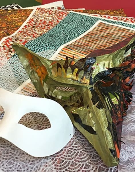 Make Your Own Masquerade Mask by Shepherds Bookbinders - crafts in London