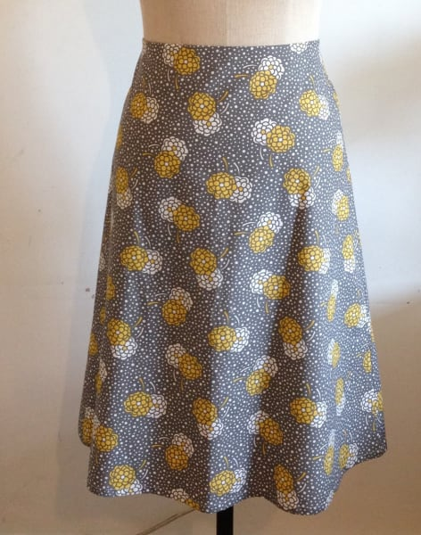 Make a Simple Skirt by Fashion Antidote - crafts in London