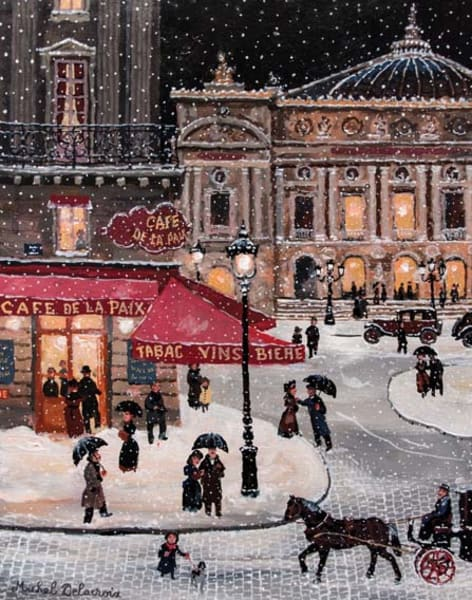 Paint Paris in Winter! Southbank by PopUp Painting - art in London