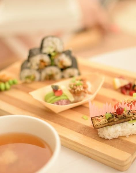 Vegan Superfood Sushi Making by Alice Sushi Art - food in London