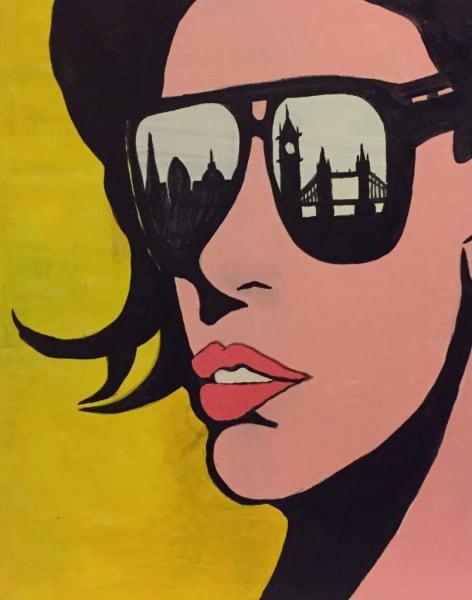Paint Summer: London Bridge by PopUp Painting - art in London