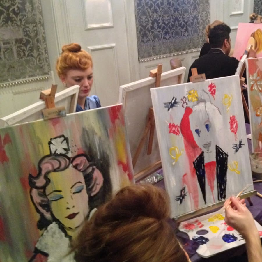 Paint like Banksy: Clapham by PopUp Painting - art in London
