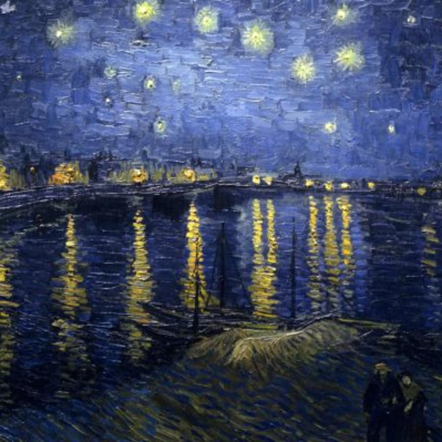 Paint Starry Night: Southbank by PopUp Painting - art in London