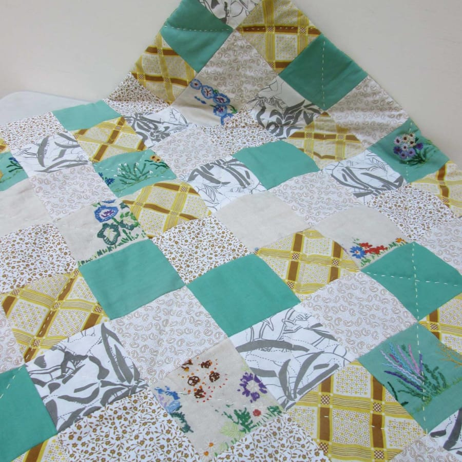 Make Your Own Baby Quilt by Fabrications - crafts in London