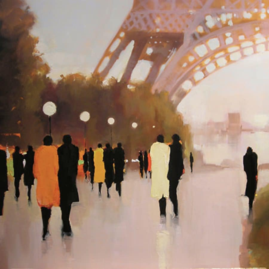 Paint Paris: Southbank by PopUp Painting - art in London