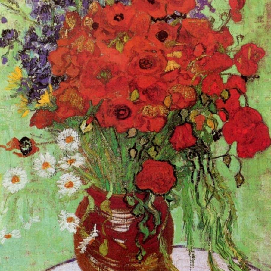 Paint Van Gogh's Poppies - Kensington by PopUp Painting - art in London