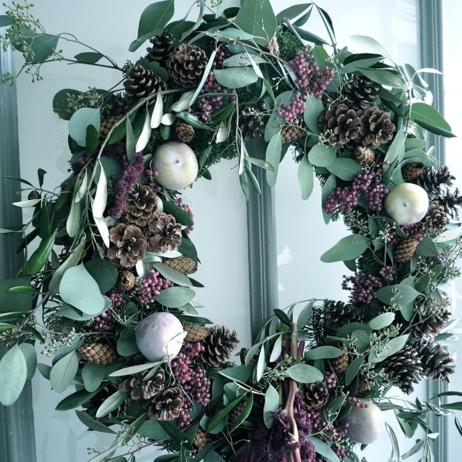 Festive Florals – Wreath Making by Jamie Aston - crafts in London