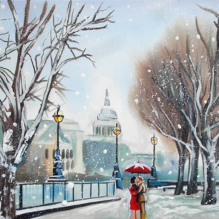 Paint London: St. Pauls by PopUp Painting - art in London