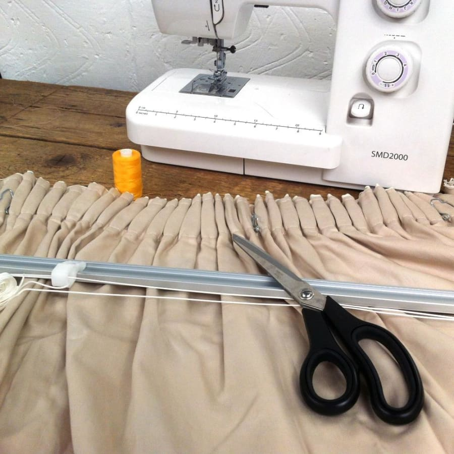 Make Your Own Lined Curtains Workshop by The Old School Club - crafts in London