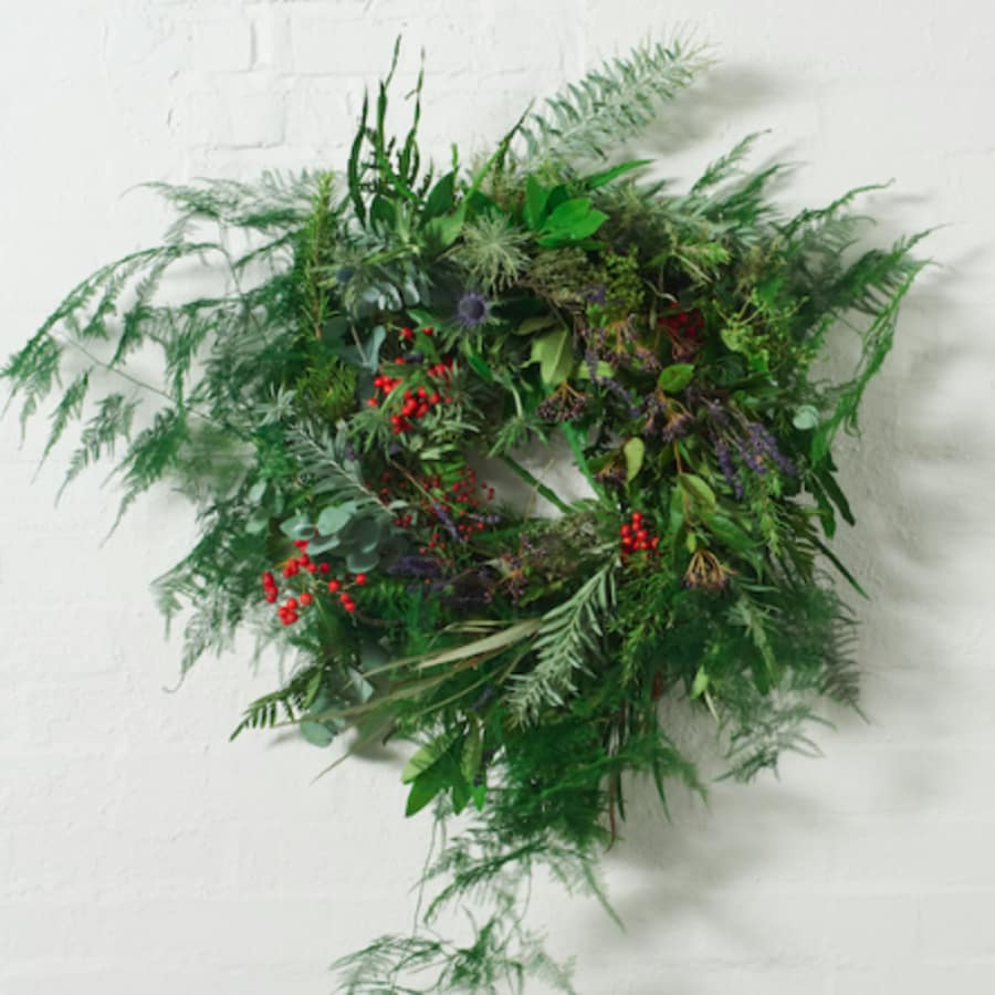 Christmas Wreath Workshop - Soho by Grace & Thorn - crafts in London