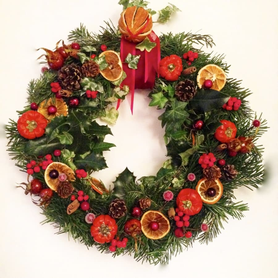 Festive Flower Arranging by Midas Touch Crafts - crafts in London