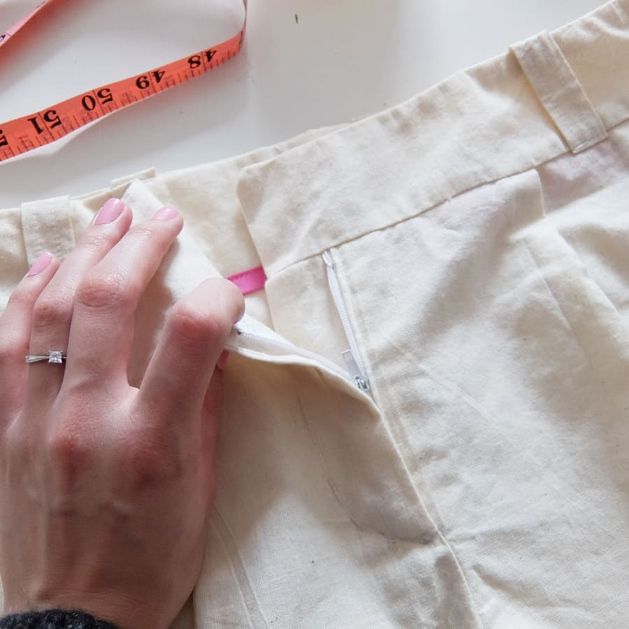 Make a Simple Trouser by Fashion Antidote - crafts in London