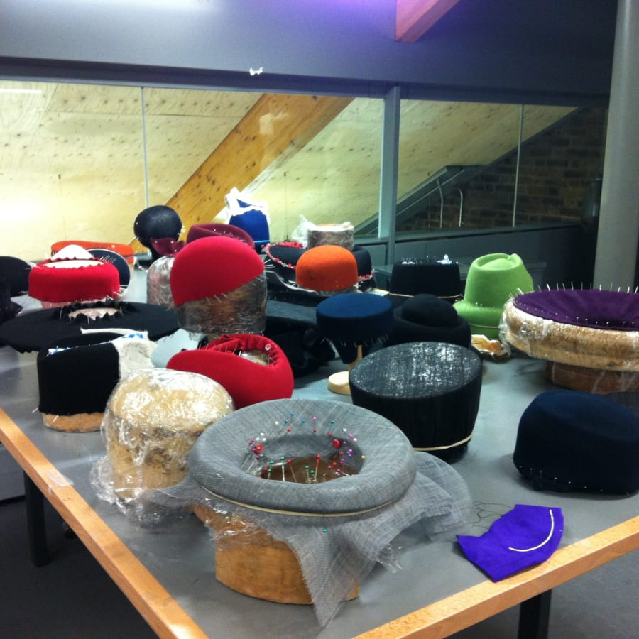 Millinery 4 day Hat Making Course by Judy Bentinck Millinery - crafts in London