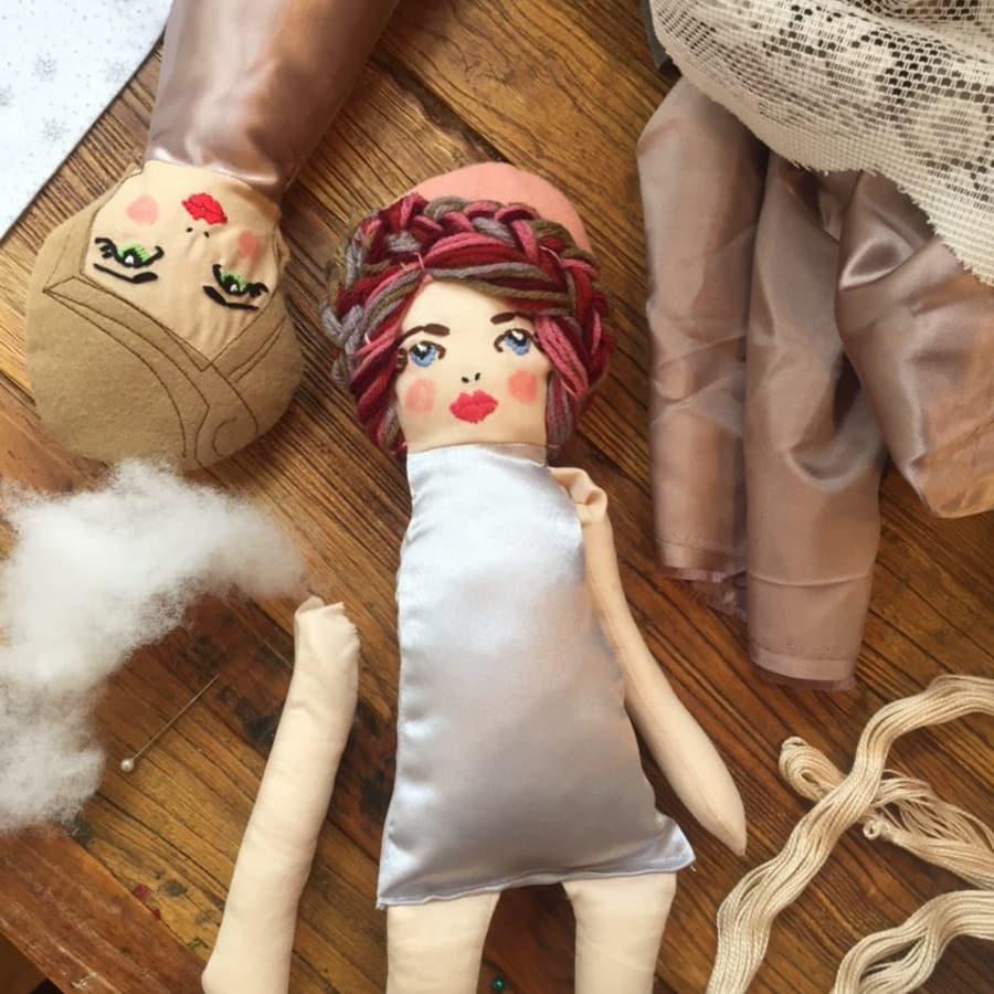 Make an 'Angel Doll' by Stag and Bow - crafts in London