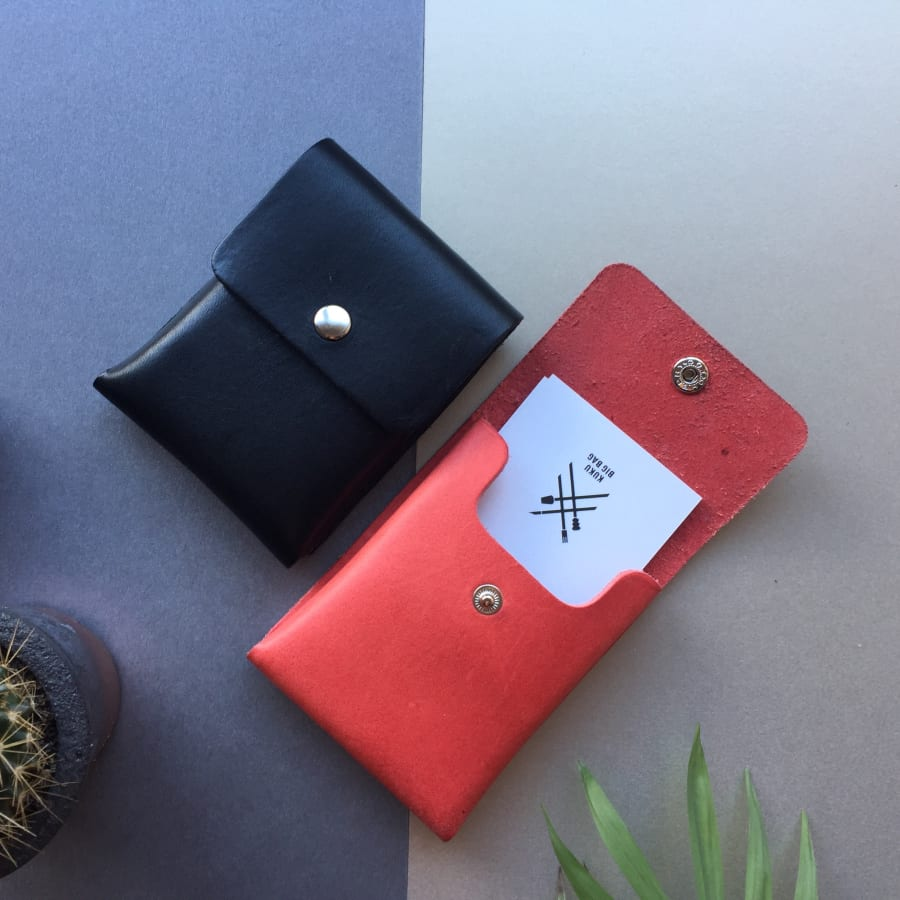 Make a Leather Purse or Cardholder by Studio Candice Lau - crafts in London