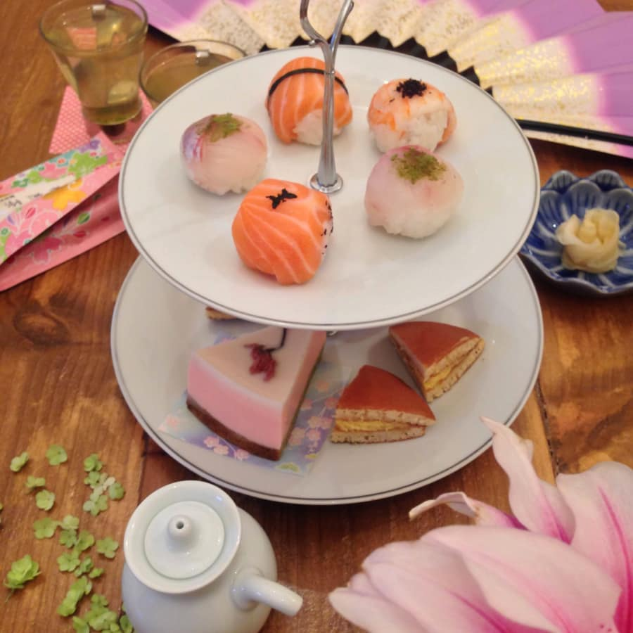 Parent & Child Japanese Afternoon Tea by Alice Sushi Art - drinks-and-tastings in London