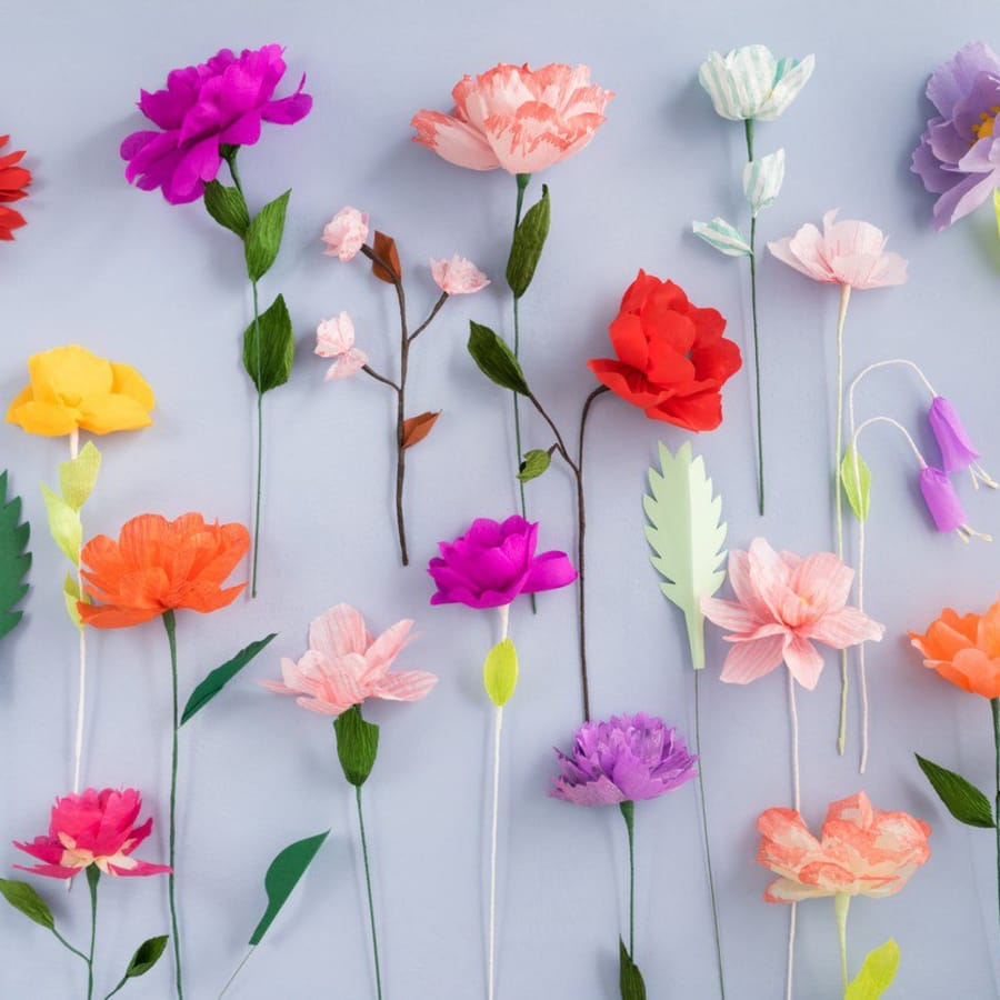 Paper Flower Making Workshop With Nancy Straughan Obby
