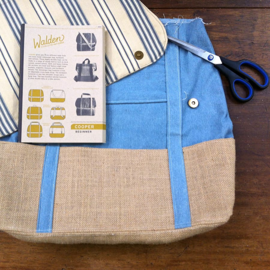 Make a Cooper Bag Class by The Old School Club - crafts in London