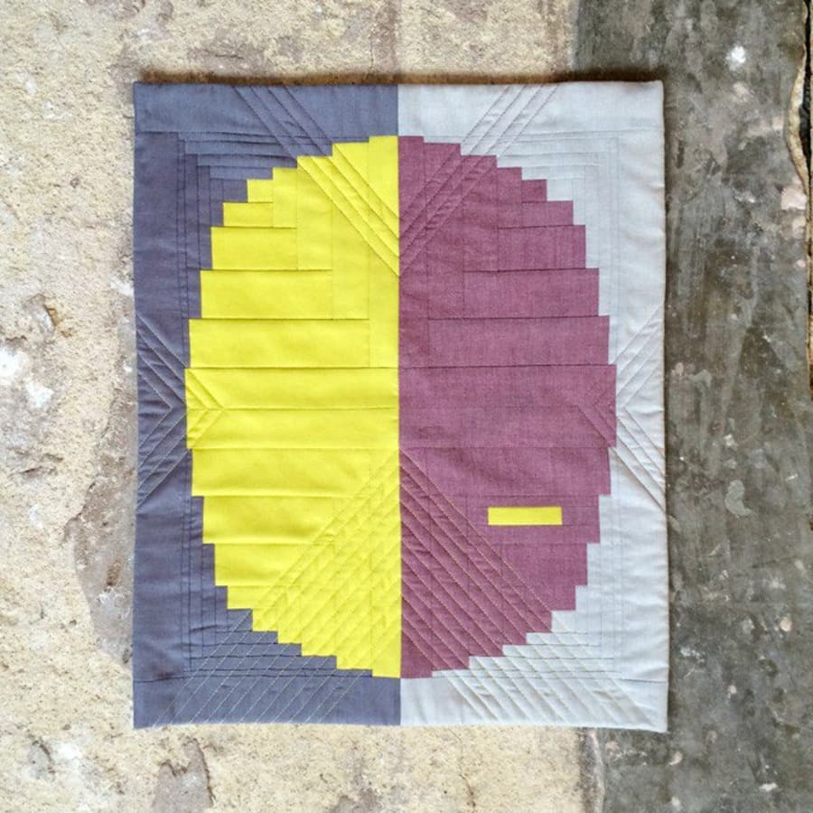 Sew a Curved Log Cabin Quilt with Jenny Haynes by The Village Haberdashery - crafts in London