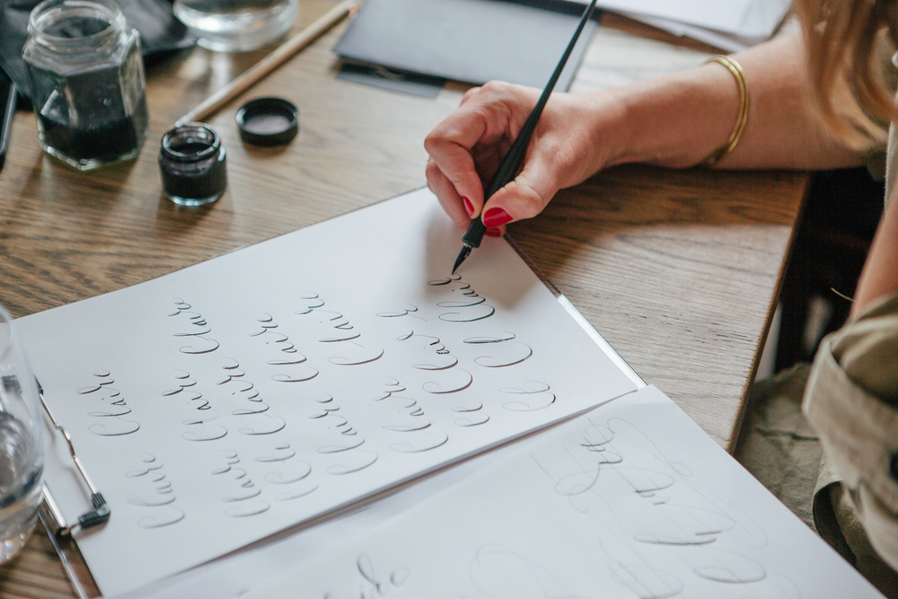 Modern Calligraphy for Beginners with London Calligraphy by London Calligraphy - art in London