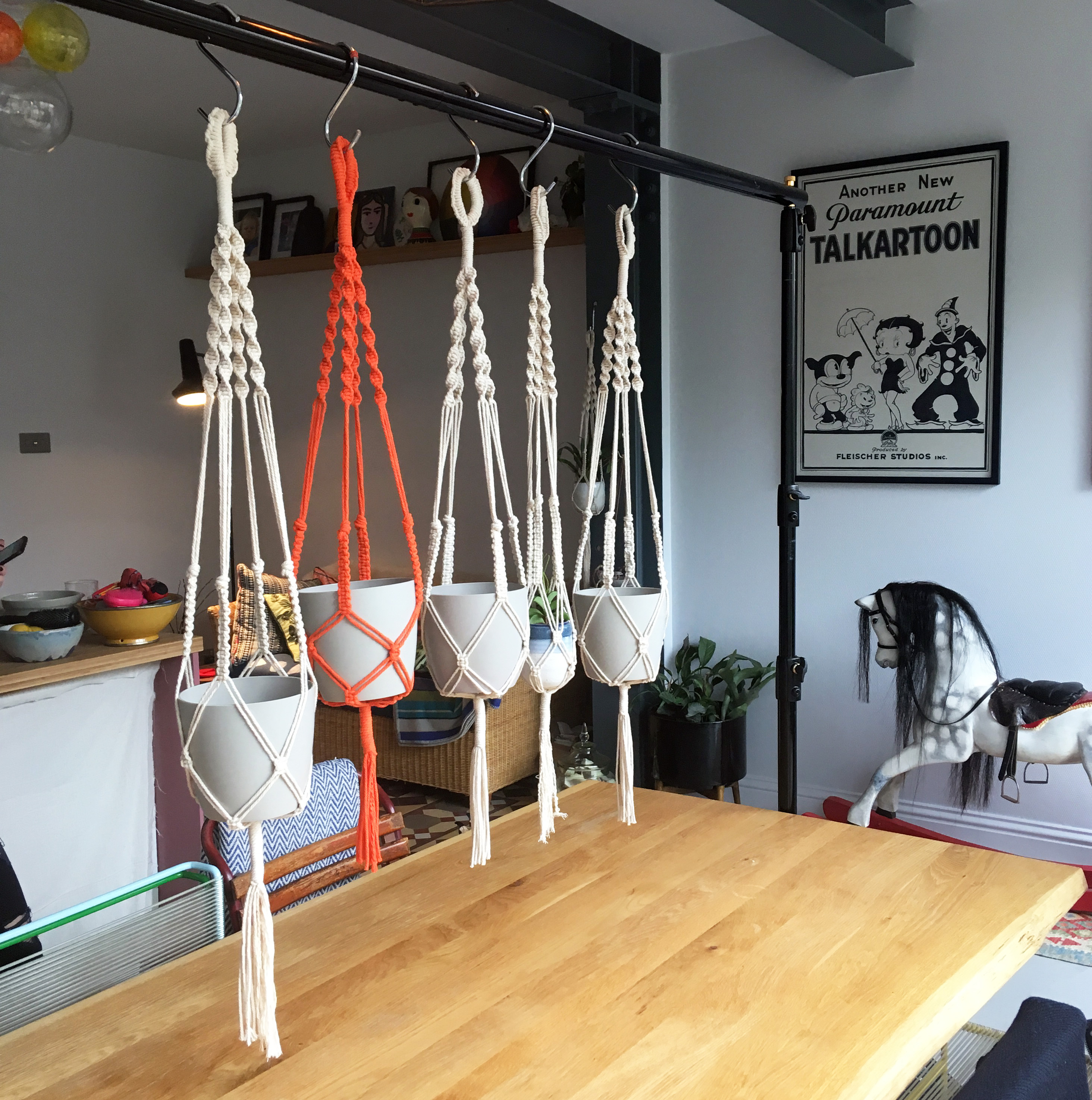 Macrame Workshop - Learn to Make a Plant Pot Hanger by Fig Tree London - crafts in London