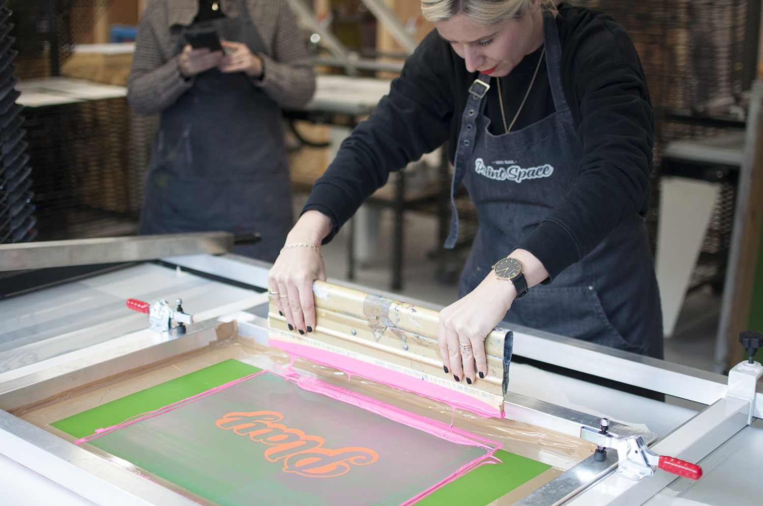Intermediate Paper Printing Course  by 3rd Rail Print Space - art in London