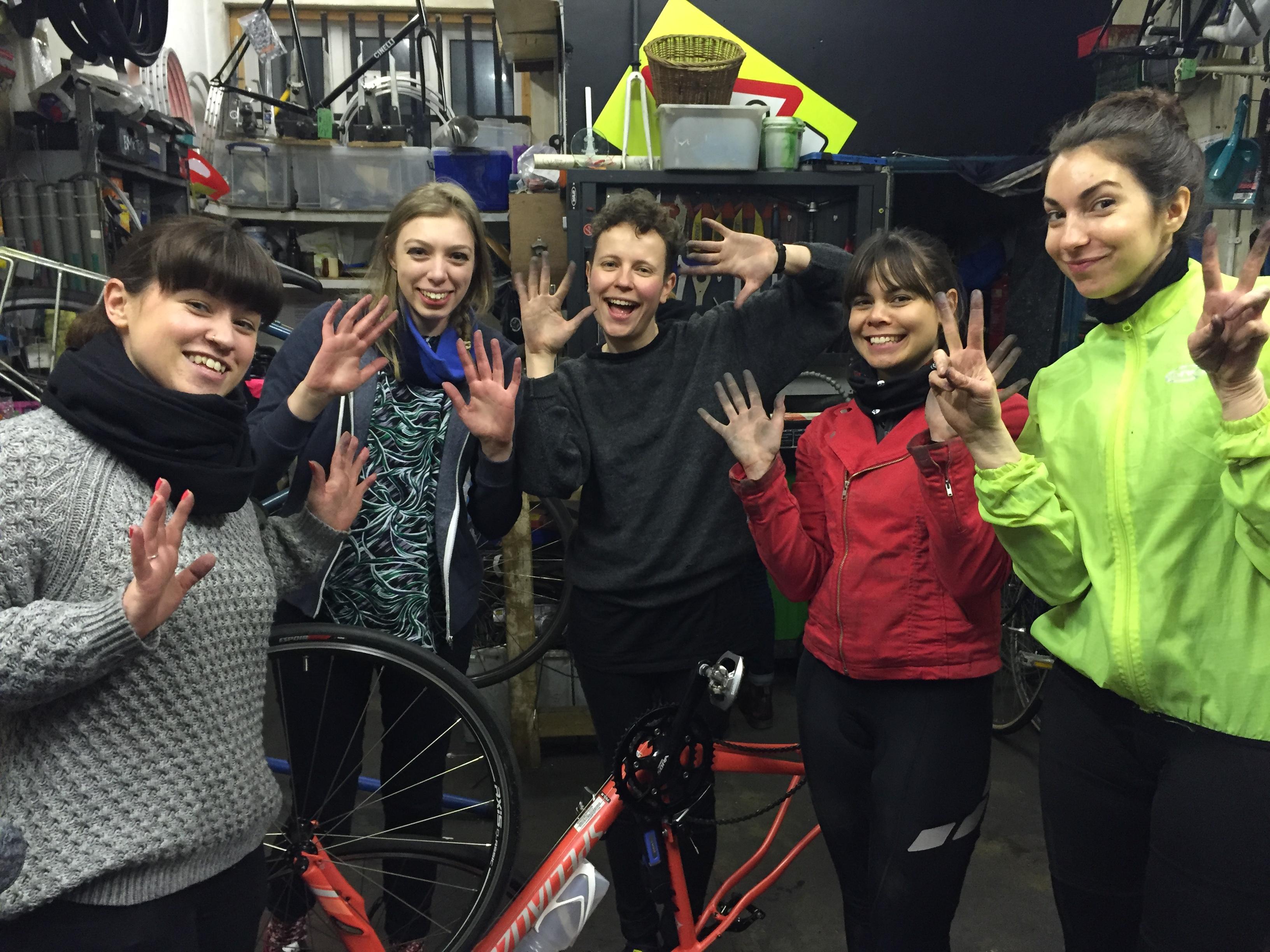 London Bike Kitchen undefined classes in London