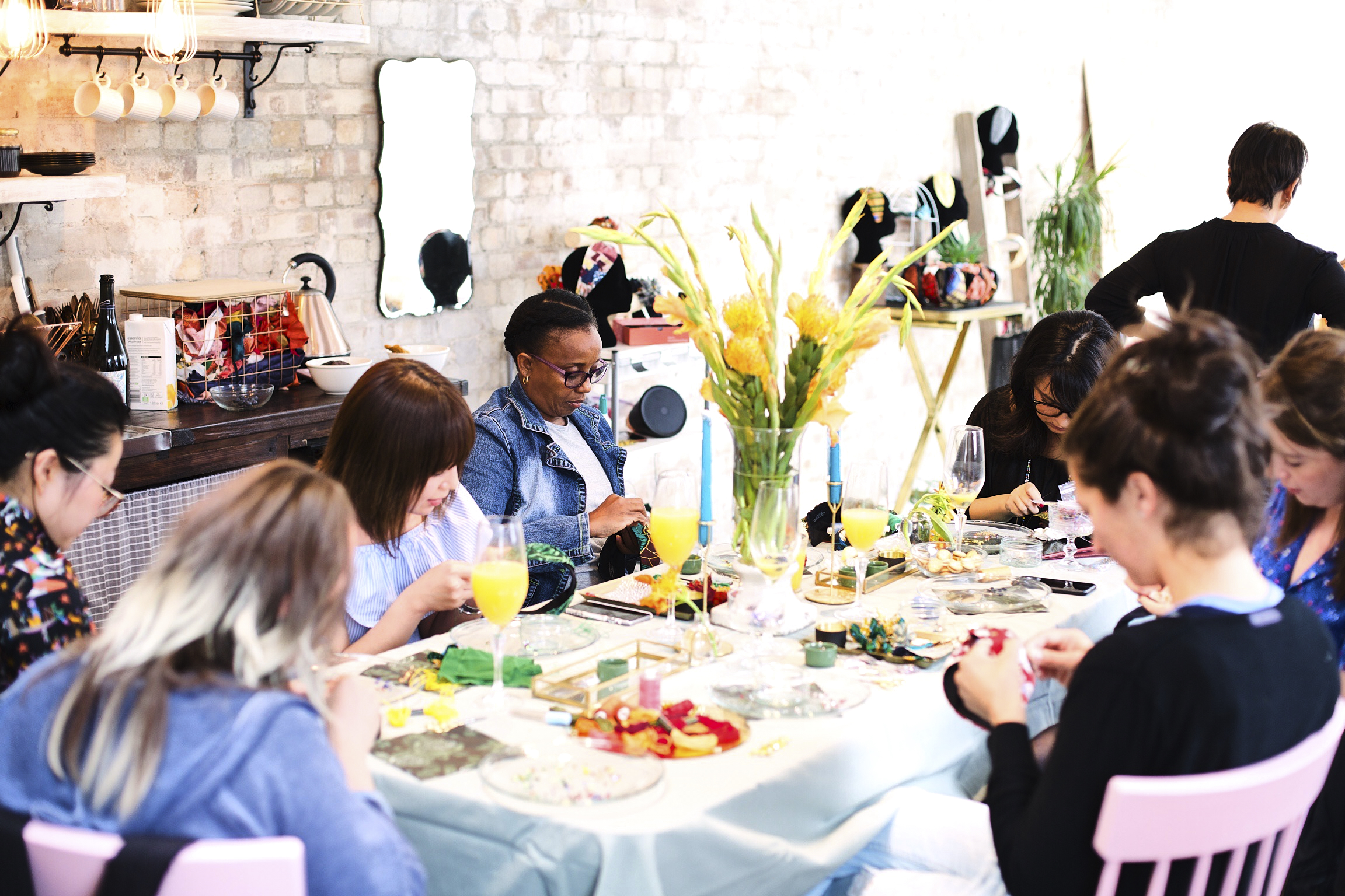 DIY Headband Workshop by Stepthirtyone - crafts in London