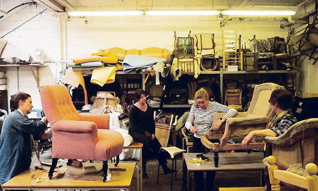 Furniture Restoration and Upholstery Workshop by The School of Stuff - crafts in London