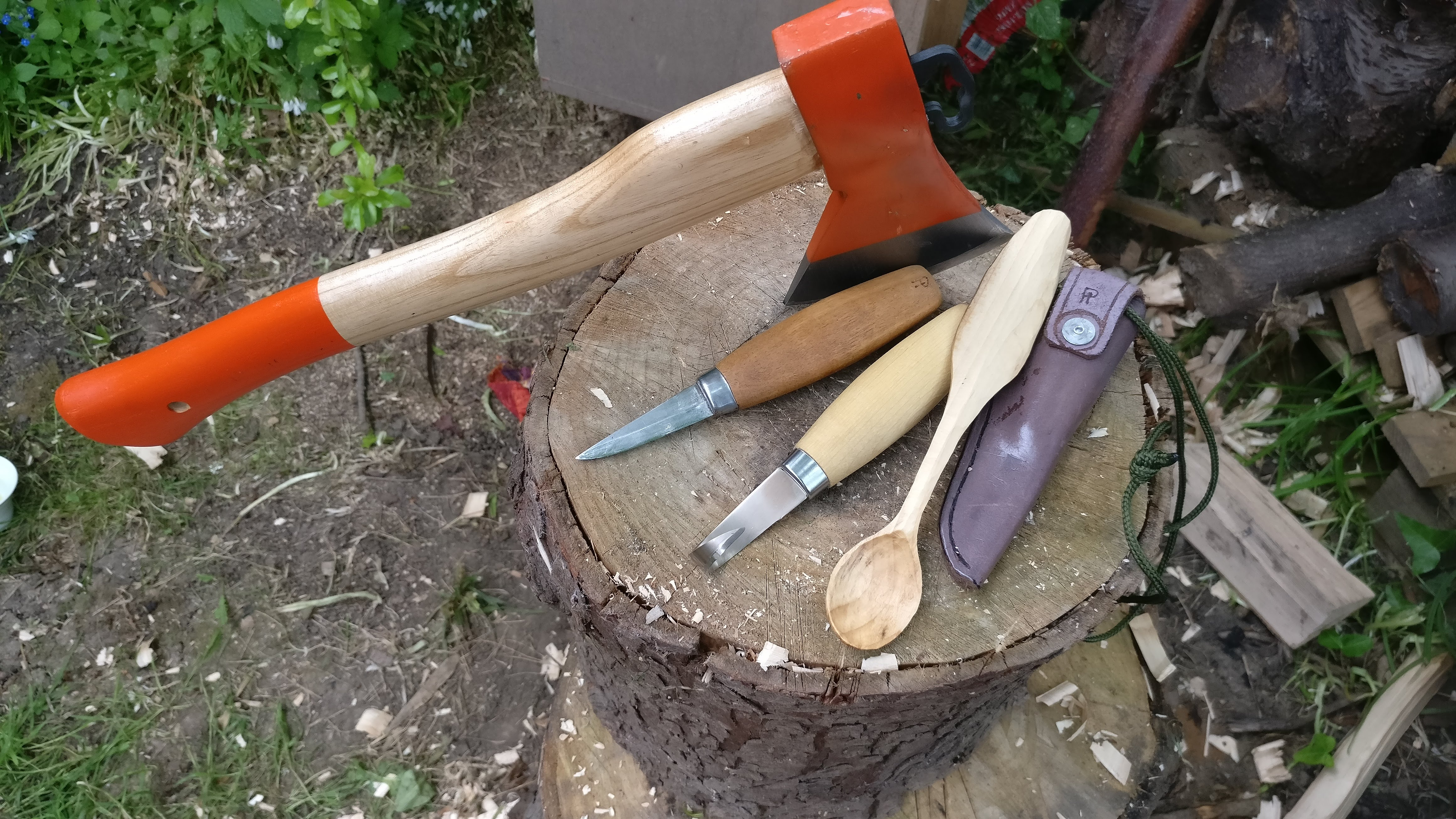 Five Evening Spoon Carving Course by Crafting Shed - crafts in London