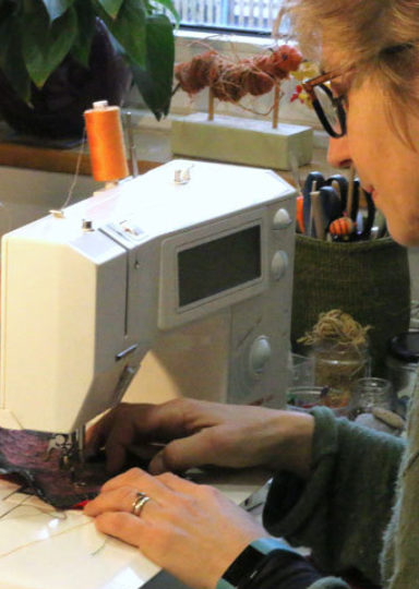 Make a Christmas Stocking while getting to know your Sewing Machine by Stitch Club - crafts in London