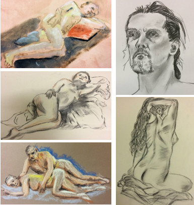 Life Drawing and Painting - Saturday Afternoon  by Chingford Life Drawing - art in London