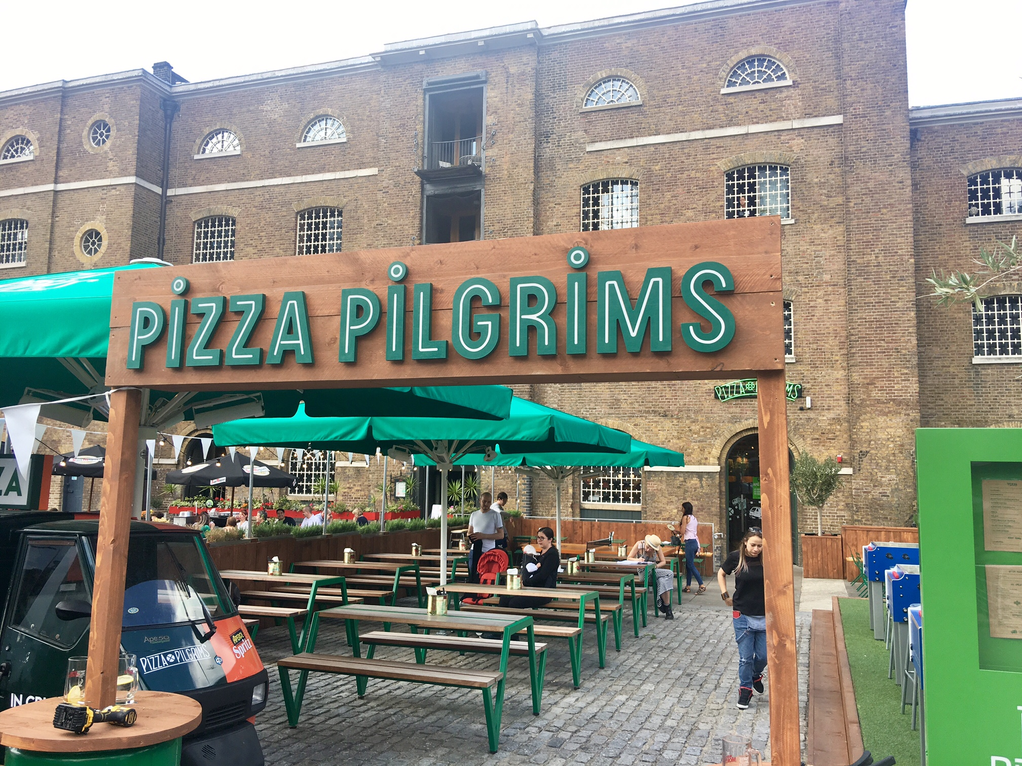 Pizza Pilgrims undefined classes in London