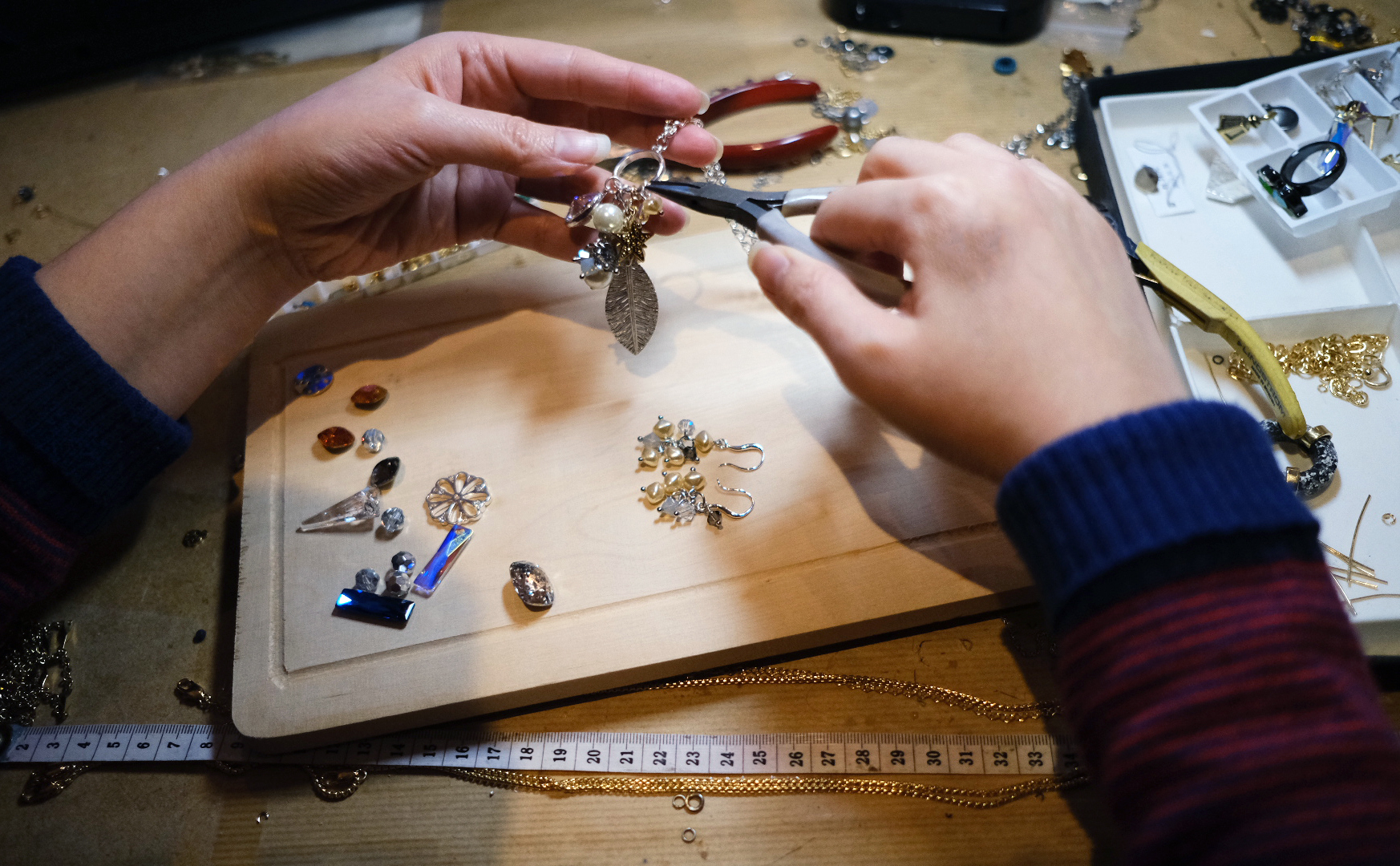 Immersive Jewellery Making Experience with Nadia Minkoff London by Nadia Minkoff London - crafts in London