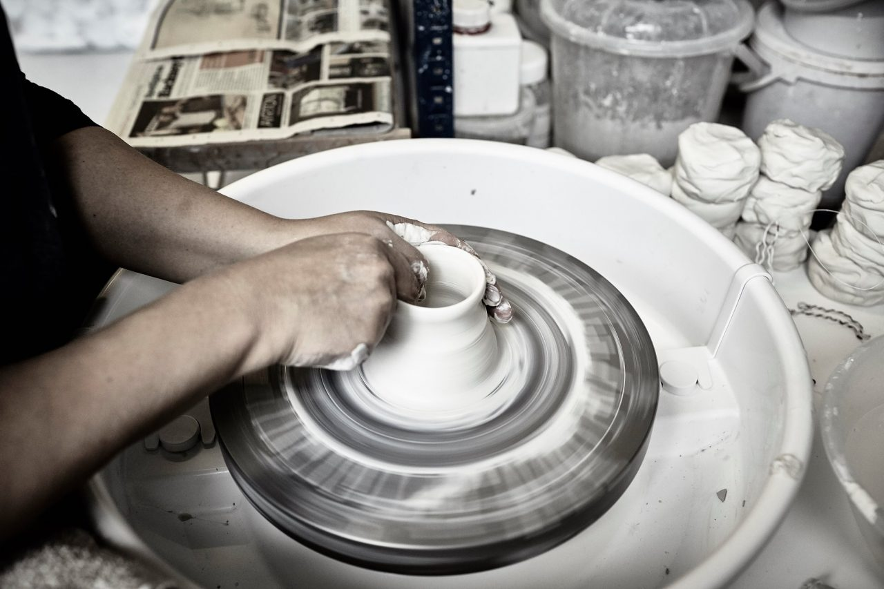 Pottery Throwing Taster Workshop by Edit Juhasz Ceramics - art in London