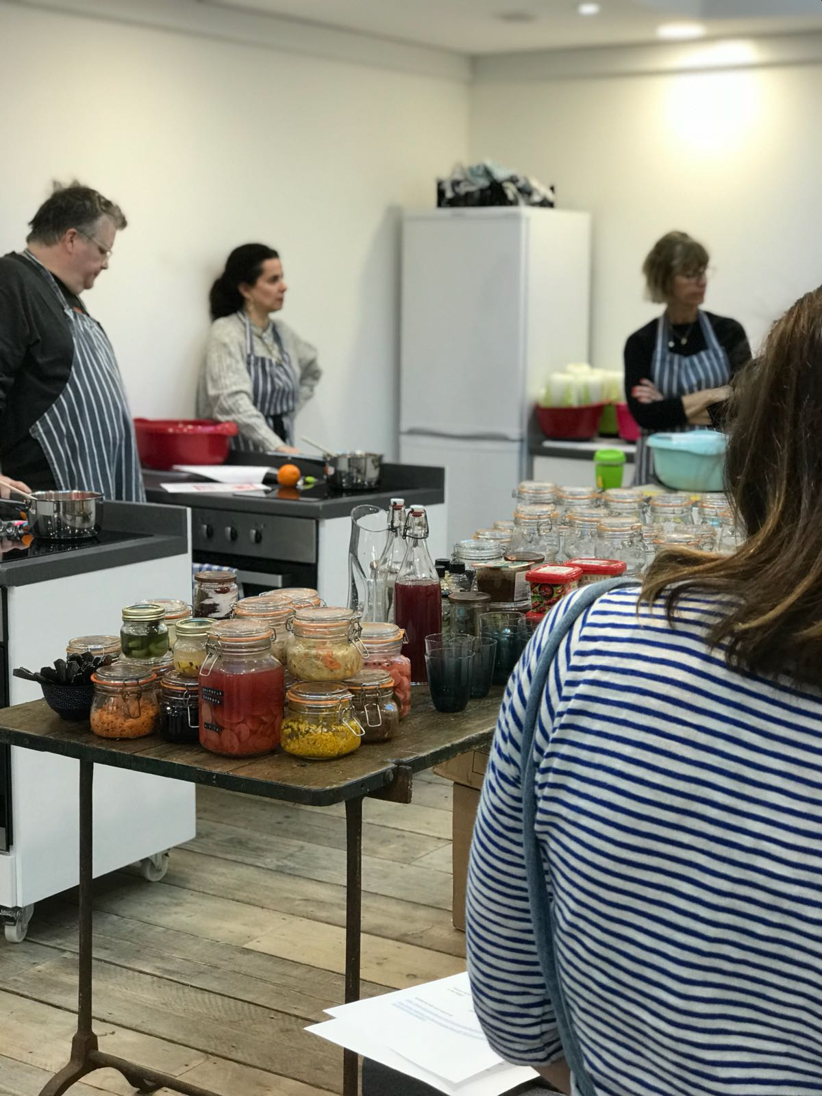 Nena Foster. Food undefined classes in London