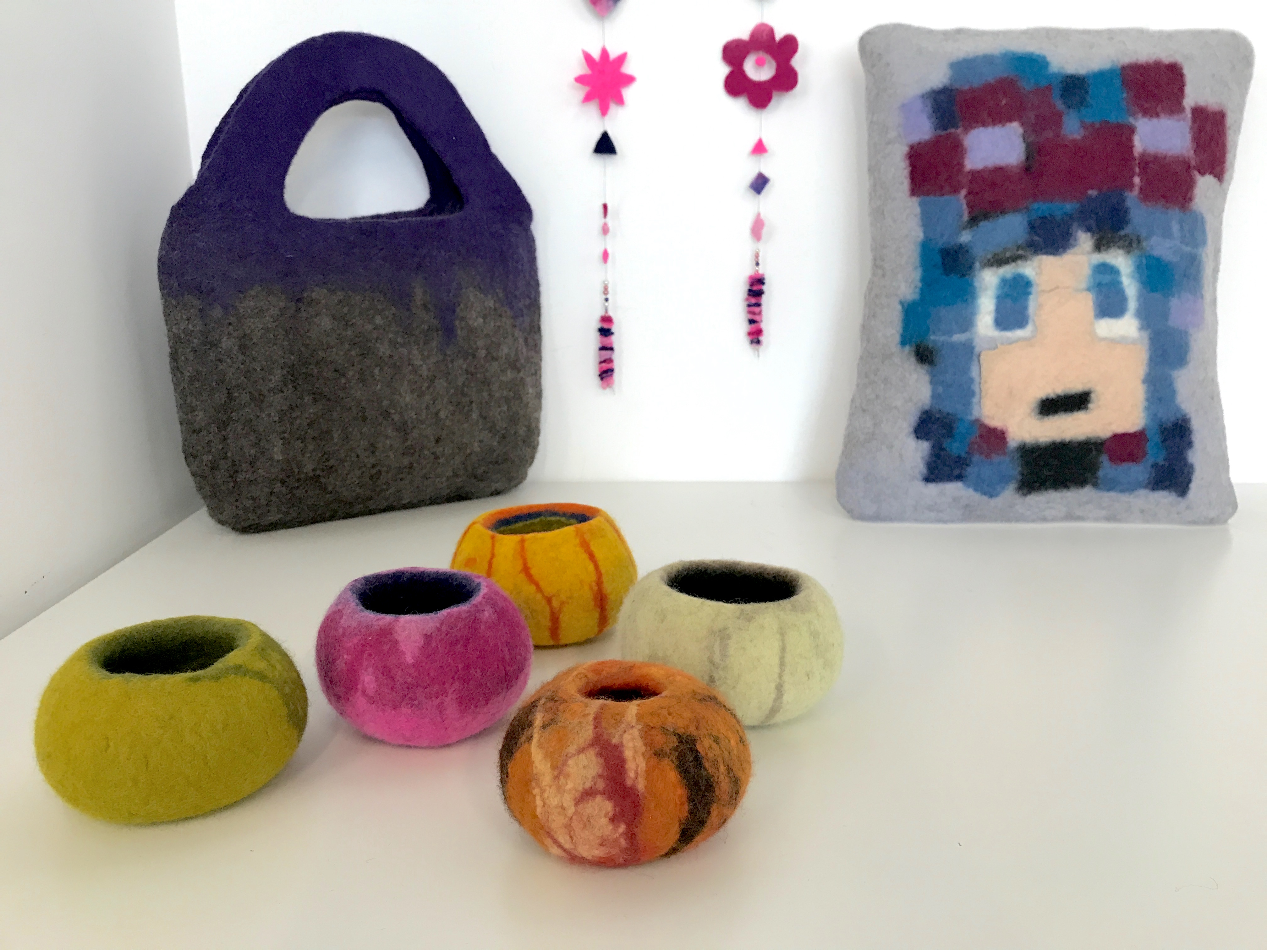 Just for You: Wet Felting/Felt making Tuition - 2D and 3D by Tabletop Workshops @ Purr & Wag It - crafts in London