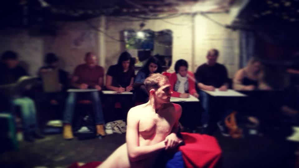 General Life Drawing Evening Class Liverpool Street by London Drawing - art in London