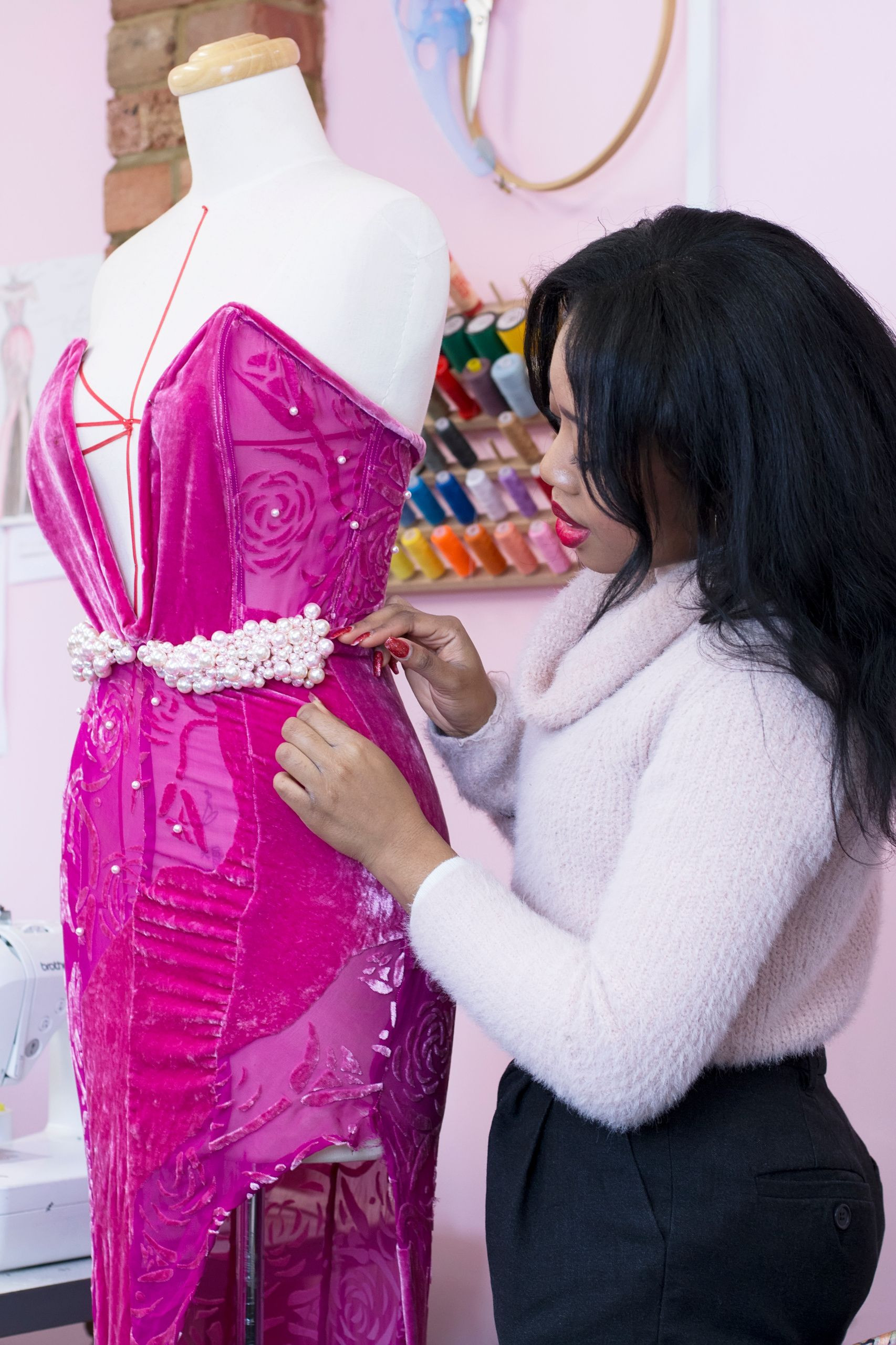 Couture Sewing Techniques Course (Intermediate-Advanced) by DUMEBI Couture Fashion - crafts in London