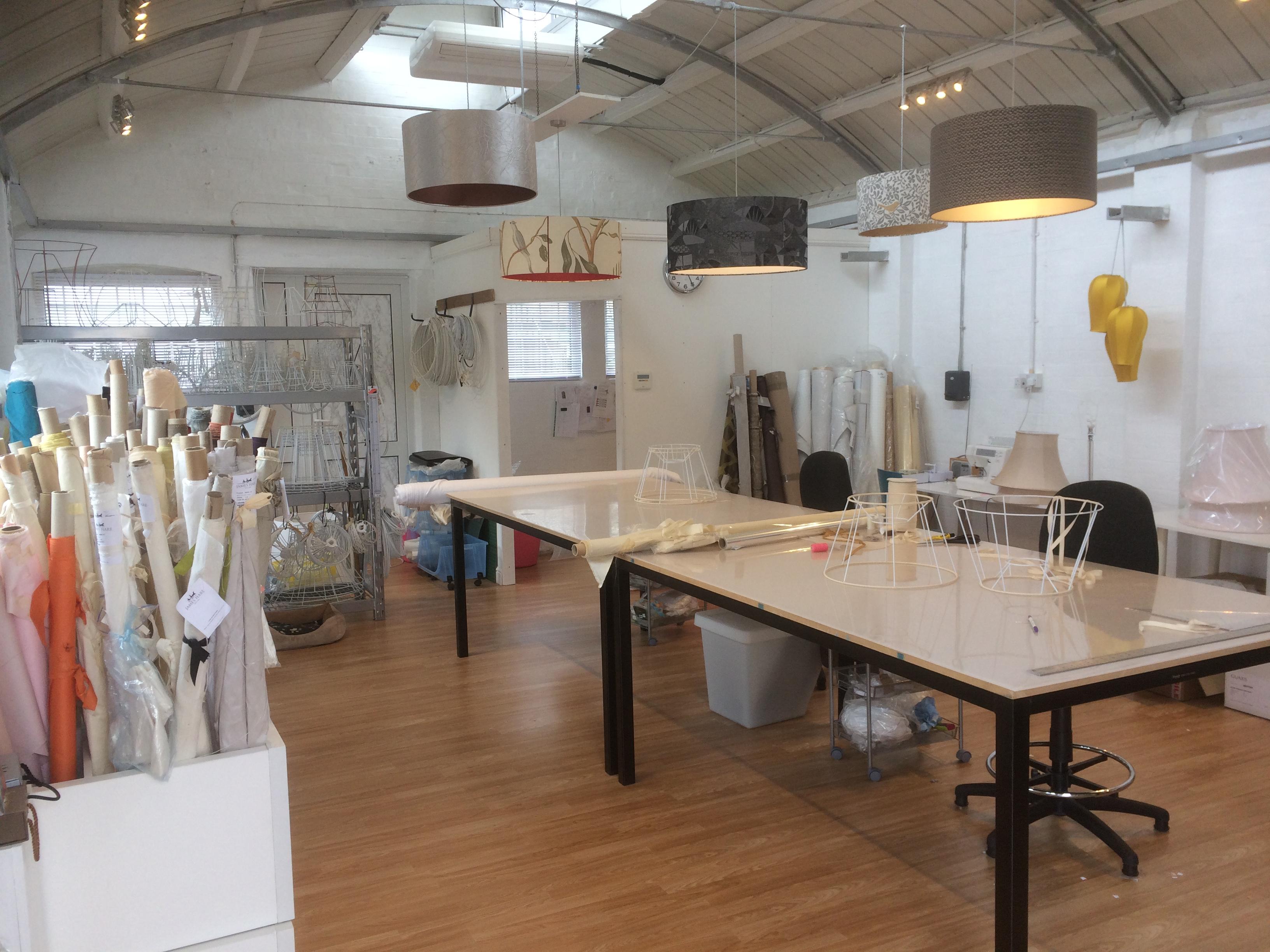Lampshade Making Workshop by Caroline B Designs - crafts in London