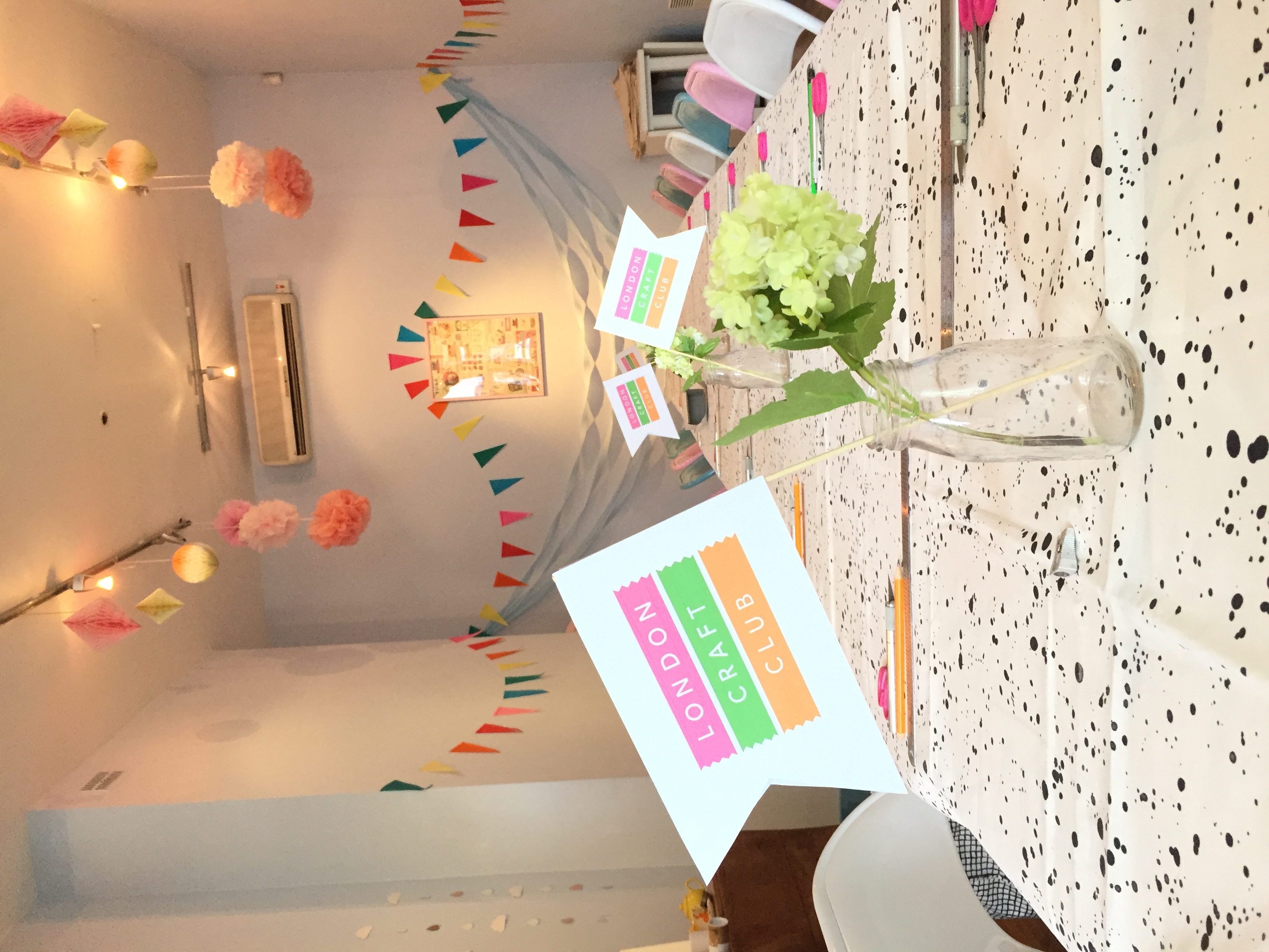 Make Your Own Big Lampshade by London Craft Club - crafts in London