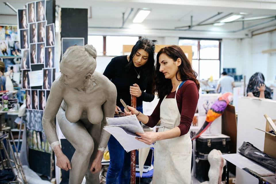 Life modelling - 5 days course by The Figurative Sculpture School - art in London