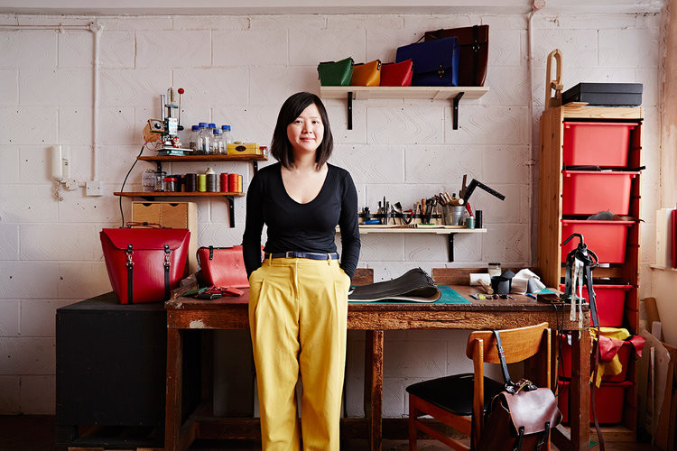 Make a Leather Cardholder or Purse by Studio Candice Lau - crafts in London