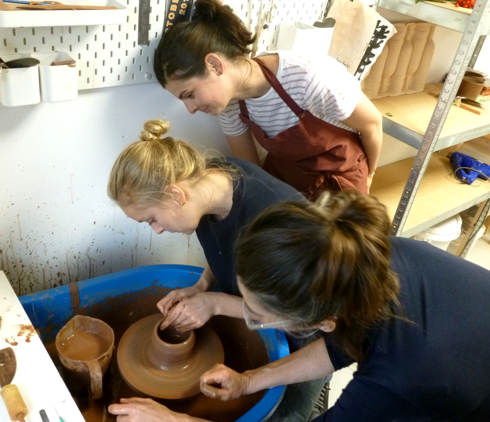 Terracotta Tile Making by F V Ceramics Studio - art in London