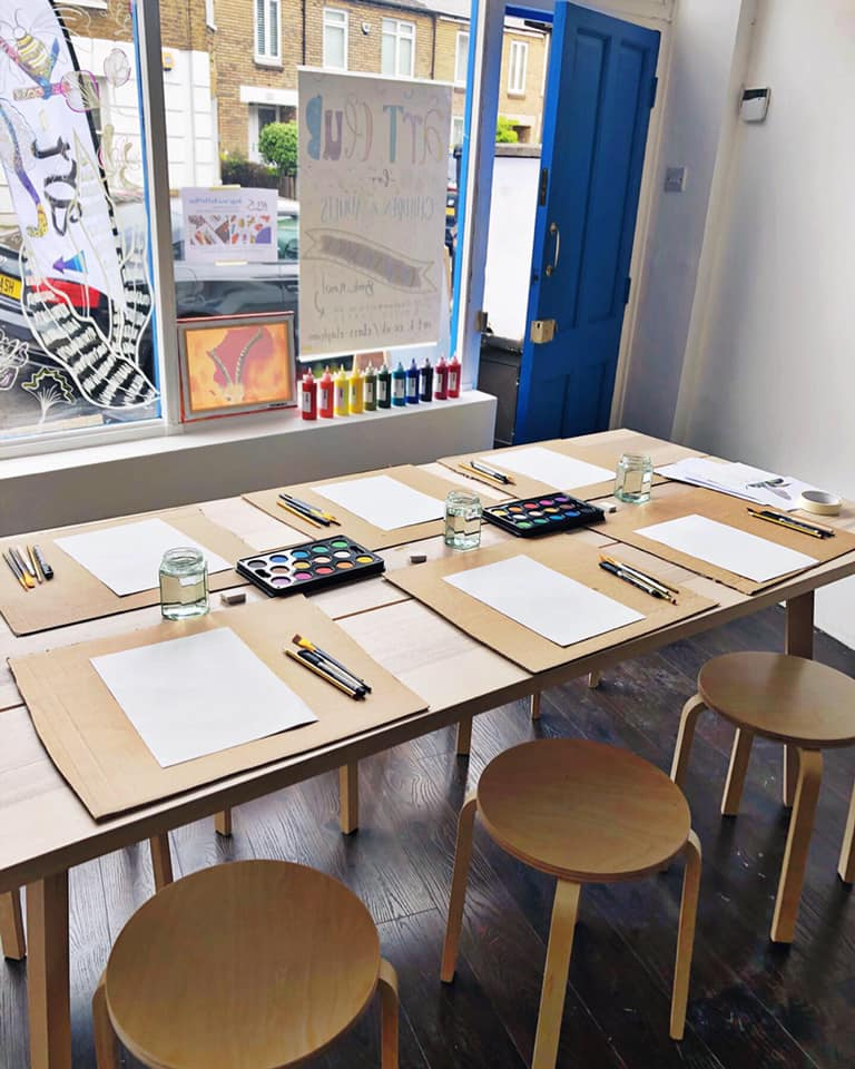 Drop In Art Class by Art-K Carshalton - art in London