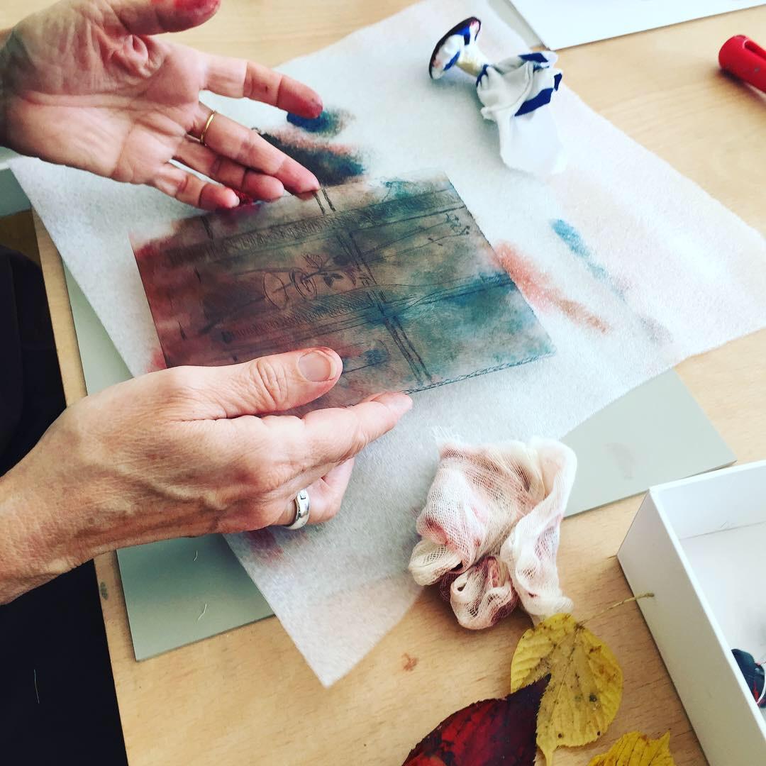 Lino-Printing Workshop by Kim Minuti - Printmaking - art in London
