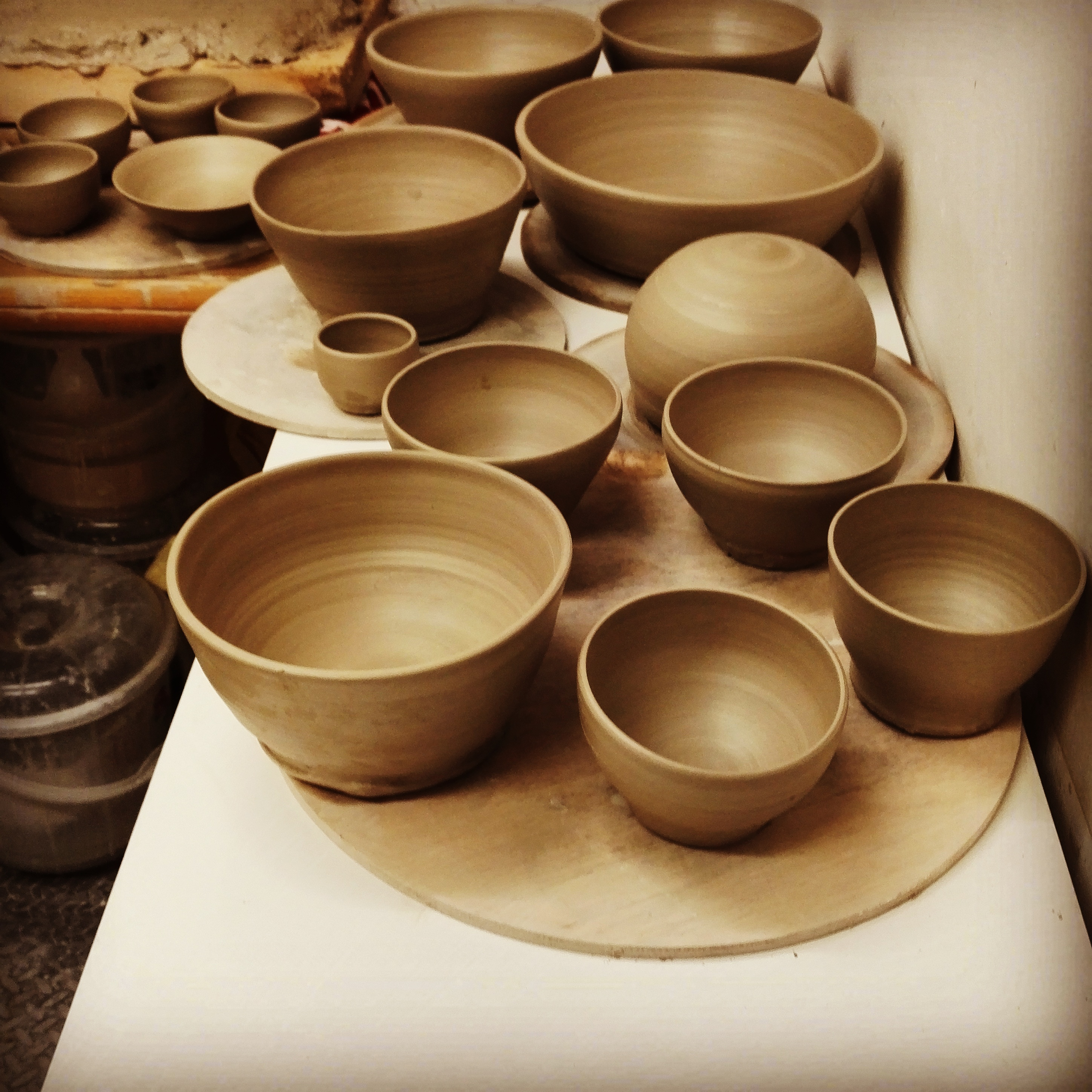 Beginners Pottery Wheel Class by Suzan Art Pottery - art in London