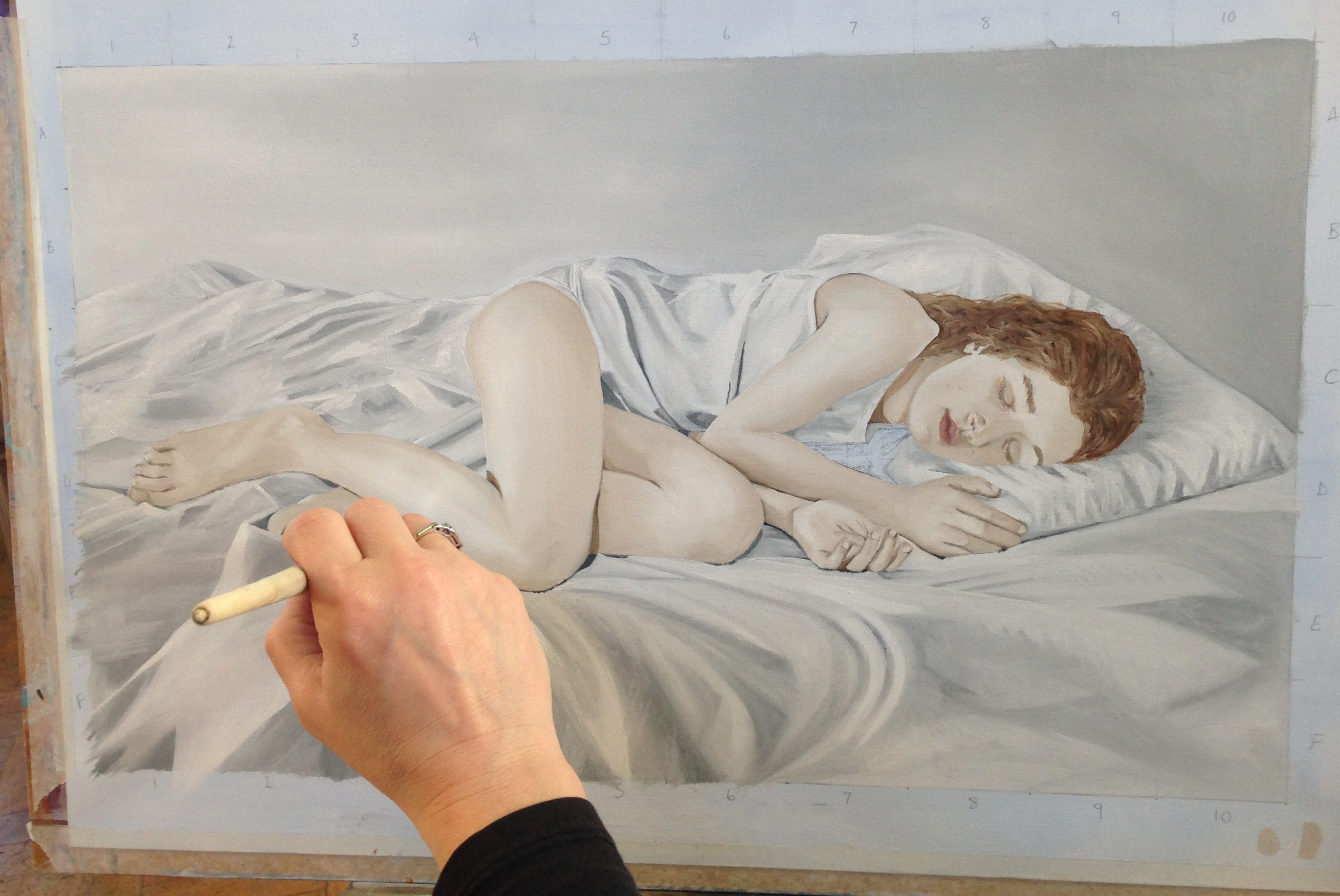 Life Drawing, Mondays @6.30pm by Richmond School of Painting - art in London
