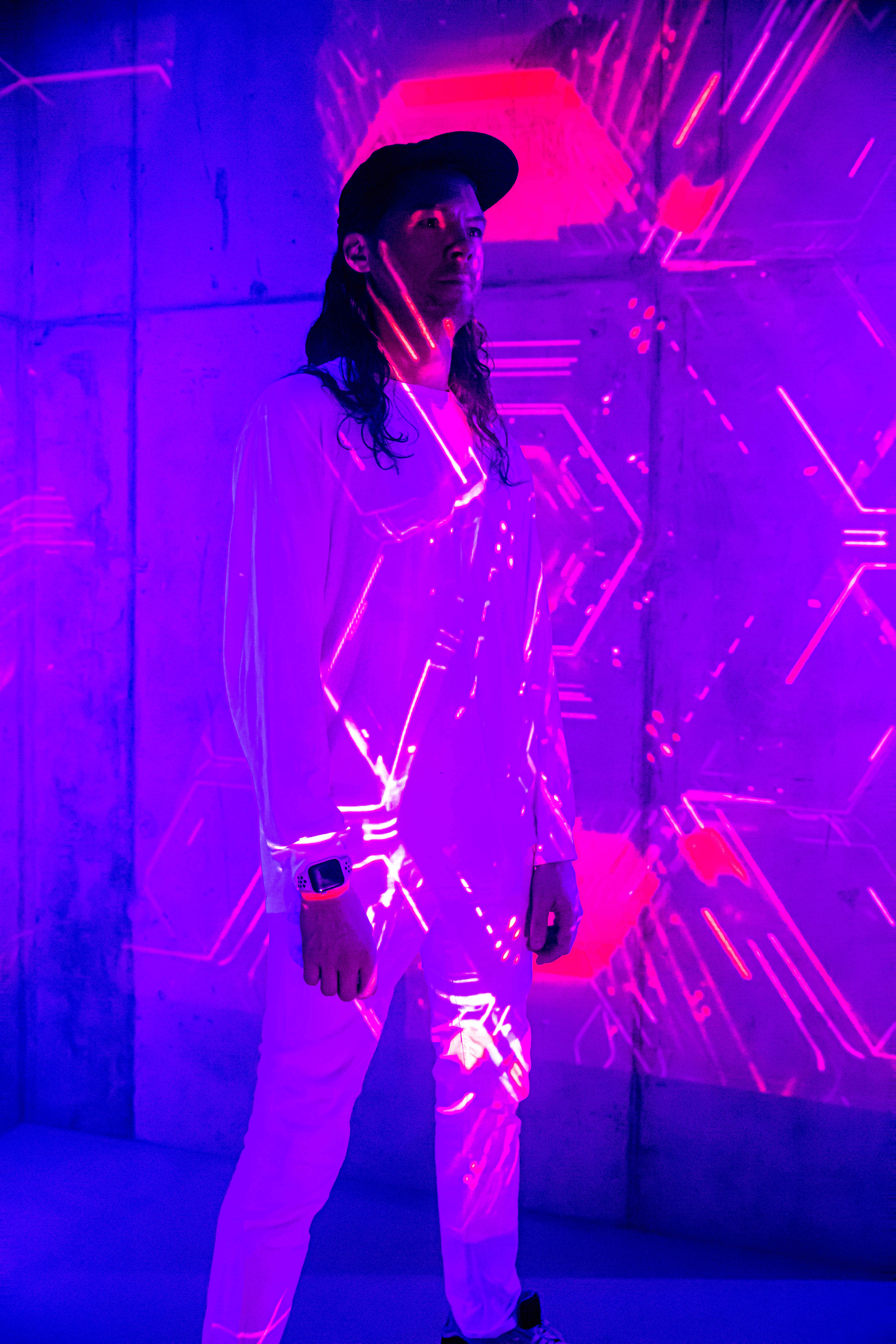 Immersive Experience, Lighting Design & Introduction to Projection Mapping by Paul Mortimore - art in London